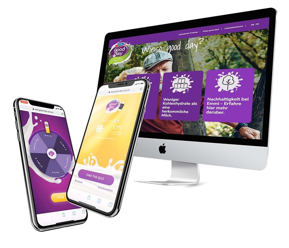 Emmi Web design and Mobile Quiz