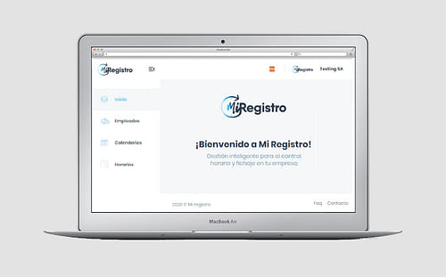 Mi Registro   Web  + App móvil - Estrategia digital