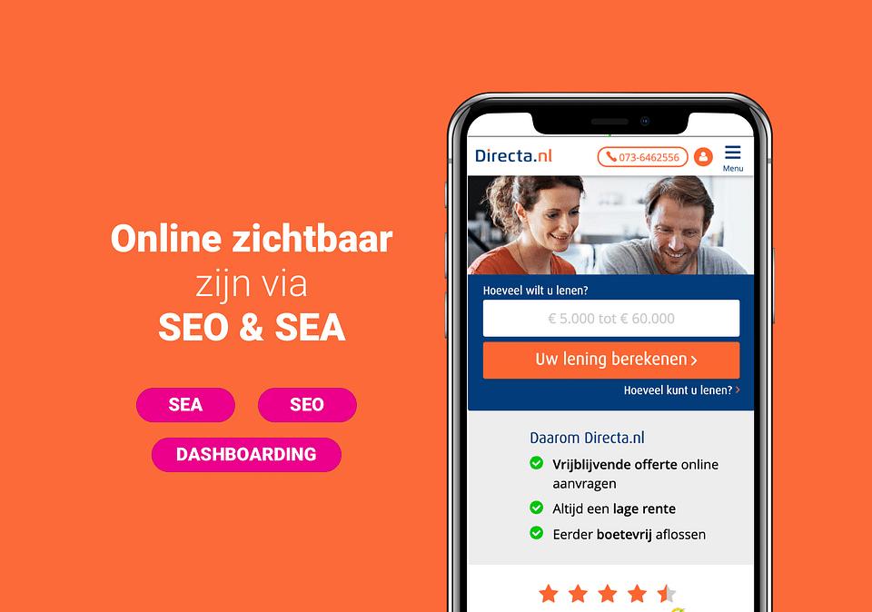 Directa.nl - Online zichtbaarheid