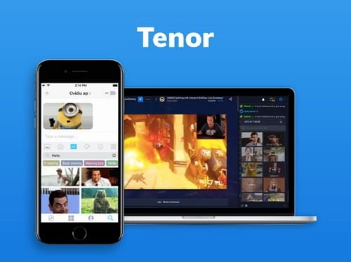 Tenor GIF's Keyboard - Mobile App