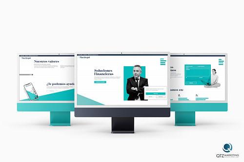 Diseño  Web y desarrollo Web   Martitegui Asesores - Estrategia digital