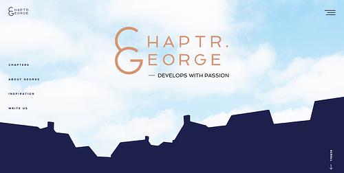 Website, Chapter George - Website Creatie