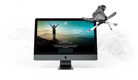 Création du site Salomon Partner Store