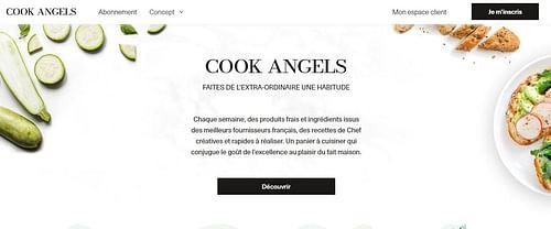 COOK ANGELS - Publicité en ligne