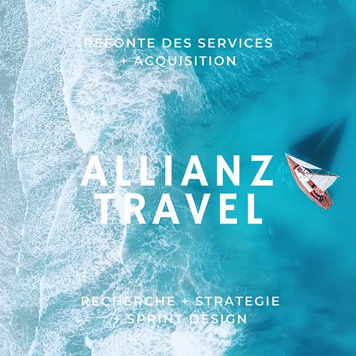 Allianz Travel - Recherche + Stratégie + Design - Création de site internet