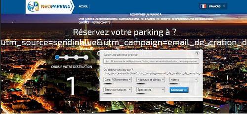 Neoparking - Application web