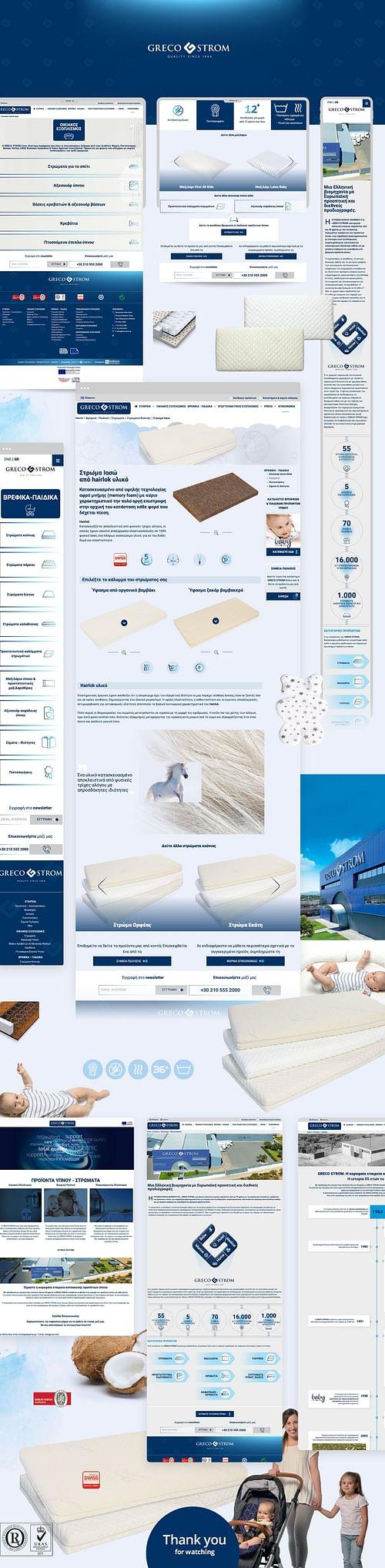 GRECO STROM Sleep mattresses - Digital Strategy