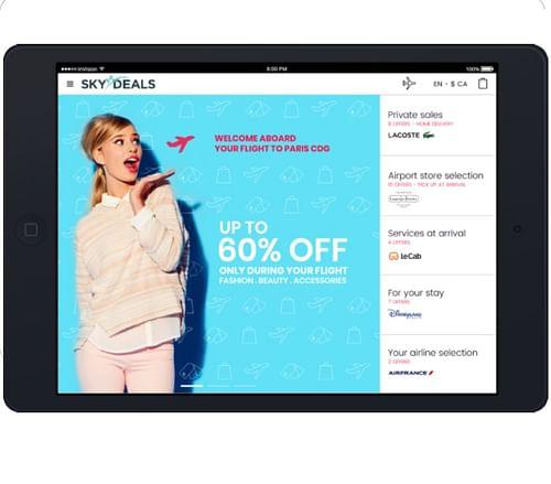 SKYDeals Shop - Application web