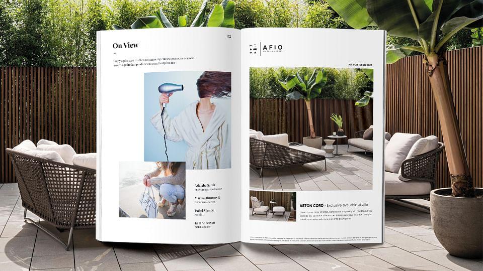 Webdesign, Branding, Fotografie   AFIO