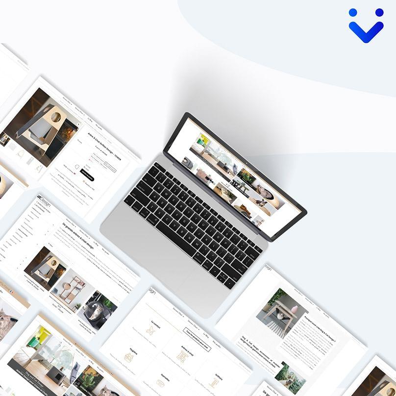 Site e-commerce Dog and Cat Design