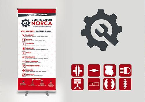 Refonte identité visuelle, brochure et web - Création de site internet
