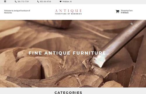 Online store - Website Creation
