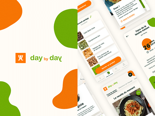 Day by day - application - Mobile App