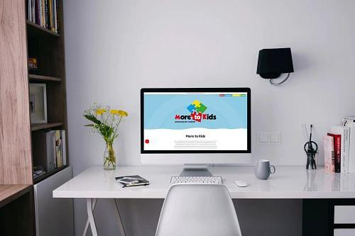 Nieuwe website More to Kids - Website Creatie
