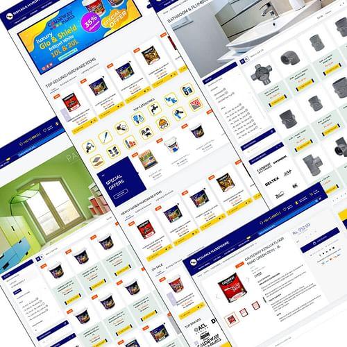 Rohanahardware.com Magento Ecommerce Development - E-commerce