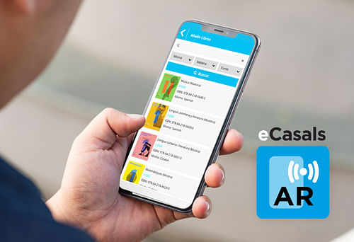 App Ecasals Realidad Aumentada - App móvil