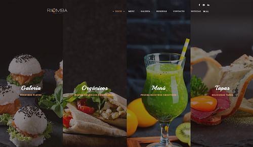 Diseño Web Restaurante en Madrid - Publicidad