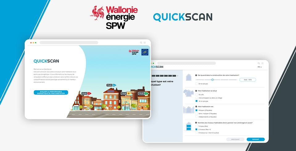 Quickscan - Region Walonne