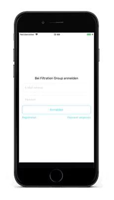 Vertriebslösung mit Content Management System - Mobile App