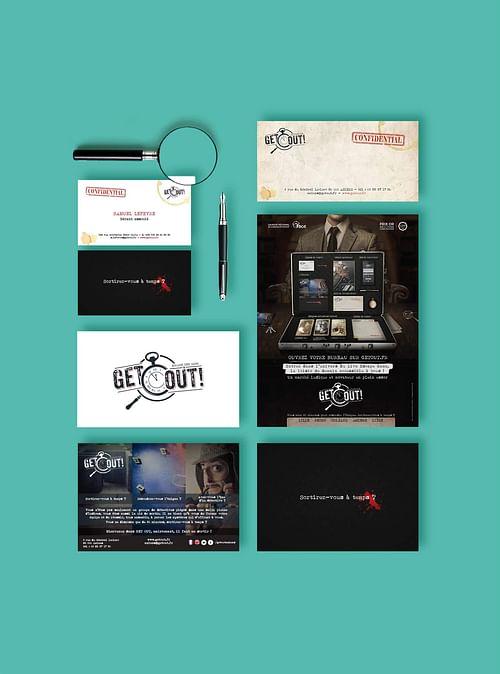 GetOut : lancement et développement - Image de marque & branding
