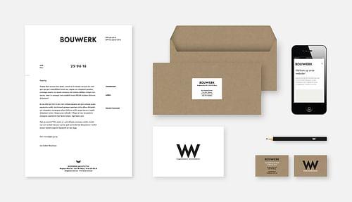 Huisstijl & website Bouwwerk Architecten - Branding & Positionering