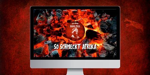 Launchkampagne Mama Zula BBQ. So schmeckt Afrika. - Grafikdesign