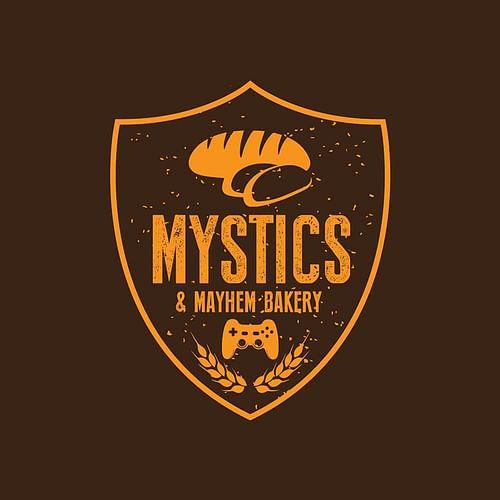 Mystics and Mayhem Bakery - Graphic Design