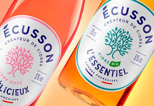 Ecusson - Identité & Packaging - Image de marque & branding