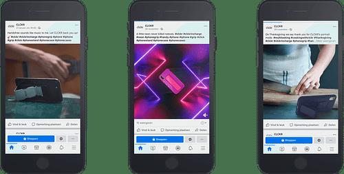 CLCKR - 'CLCK'-bare content - Social media