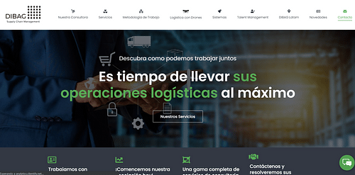Website - Supply Chain - Wordpress - Digital Strategy