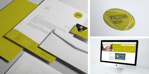 Picstra Media - Website & Corporate Design