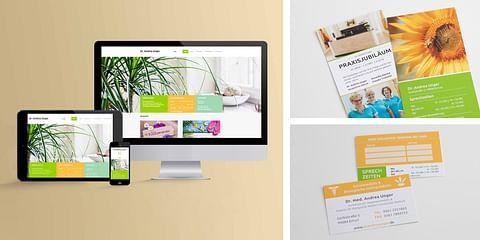 Dr. Andrea Unger - Website Relaunch, Flyer- & V...