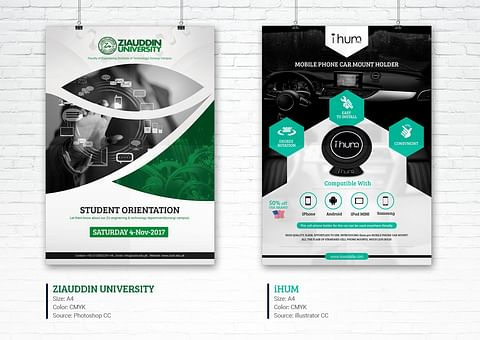 Creative Flyer Design for Ziauddin University And