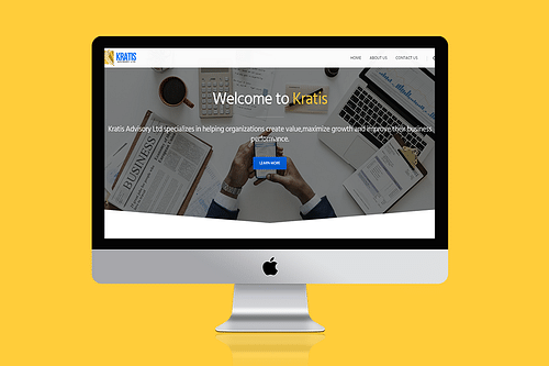 Kratis Advisory - Website Creation