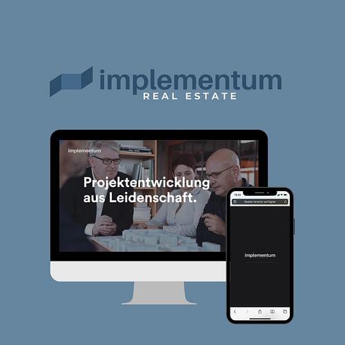 Neue digitale Präsenz. - Création de site internet