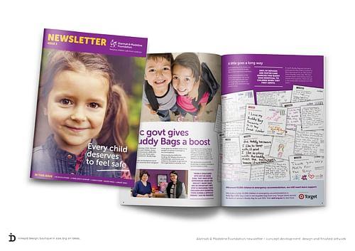 Newsletter - Graphic Design