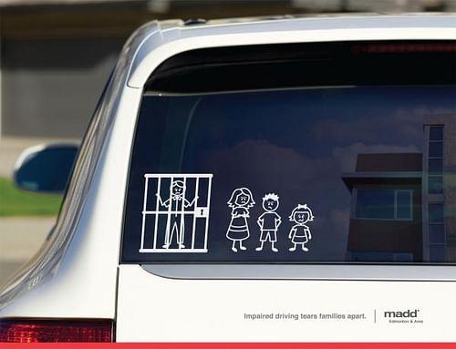 Stick Family Jail - Advertising