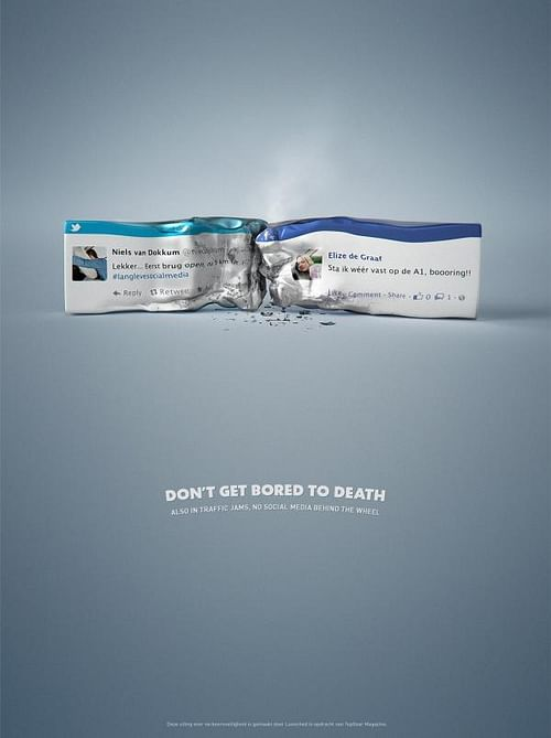 Road Safety - Crash - Reclame