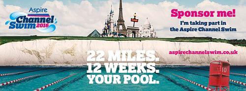 Aspire Channel Swim - Advertising
