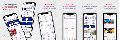Paris Aéroport, l'application mobile - Application mobile