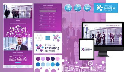 Inhouse Consulting Network - Webseitengestaltung