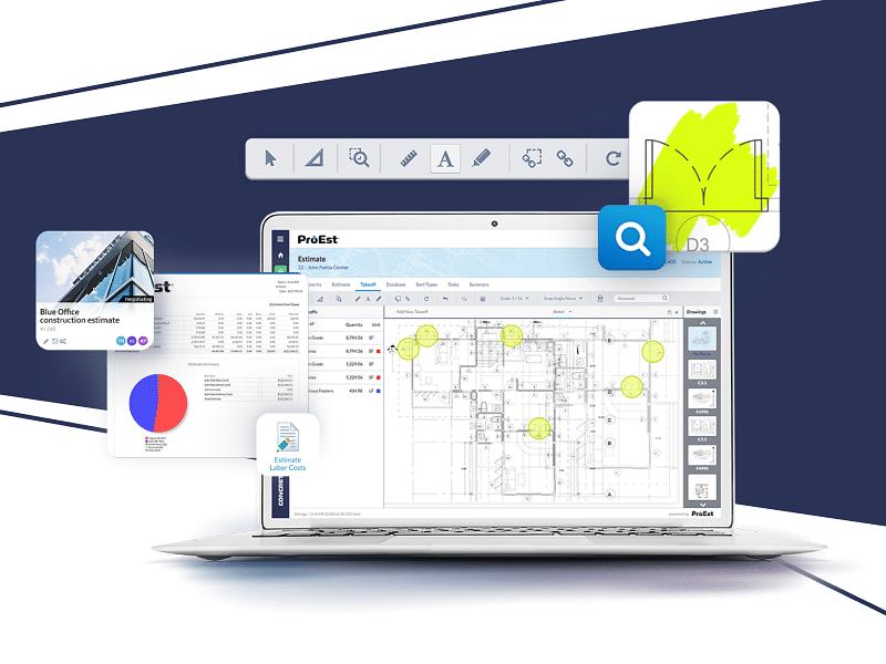 ProEst - Cloud Based Construction Web App