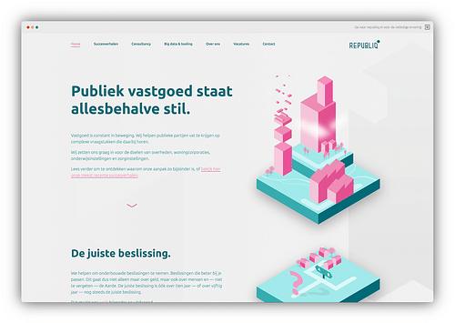 Herpositionering Republiq - Website Creatie
