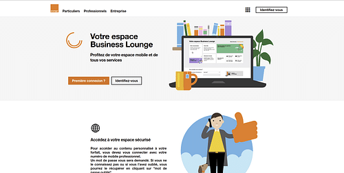 Orange Business Lounge - Data Consulting