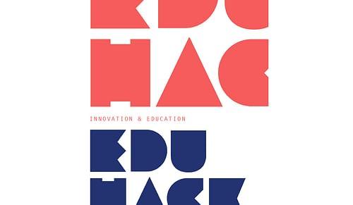 Logo & Póster para Proyecto EduHack - Estrategia digital
