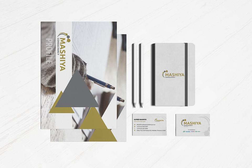 Mashiya Consultancy Corporate Identity