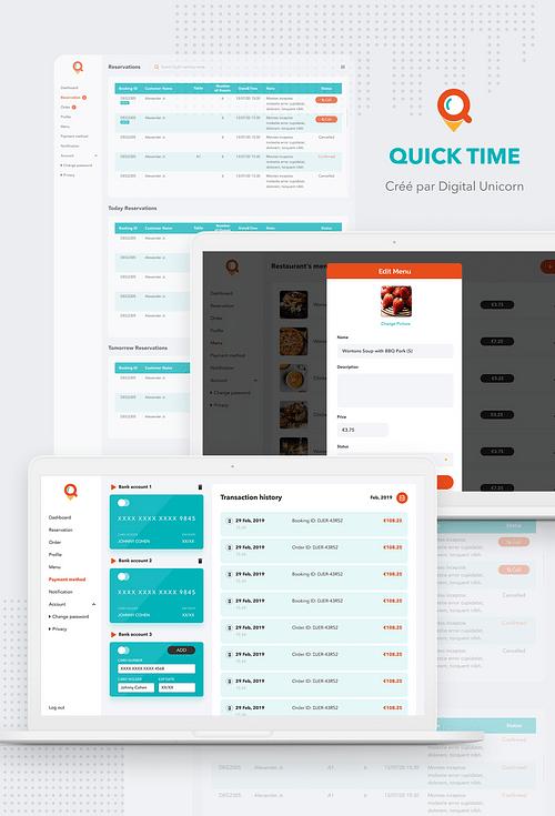 Quick Online - Application web