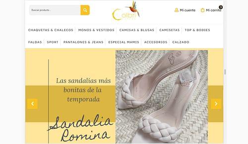 Website creation & SEO para Colibri Clothes. - Creación de Sitios Web