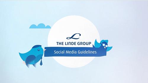 LINDE - Erklärvideo Social Media - Motion-Design