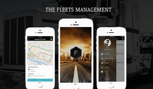 The Fleets Management App - Web Application
